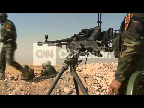 IRAQ: BATTLE TO RETAKE MOSUL DAM