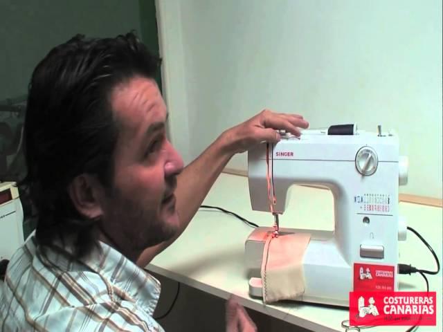 Enhebrado , regular tensiones y trucos maquinas de coser , costureras canarias