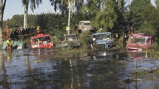 Off-Road Truck Mud Race and Super Swim | Andsumae