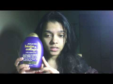 Organix Thick and Full Biotin and Collagen Shampoo Review (Best Shampoo for THIN hair)