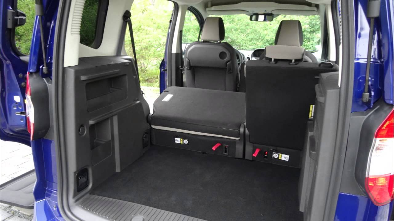 Ford Tourneo Courier - YouTube