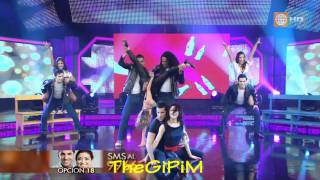 RENATO BONIFAZ baila MIX GREASE ( Full HD ) - El Gran Show 03/09/2011