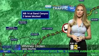 Whitney Drolen 2011/09/13 CBS2 5AM HD; Tight shirt