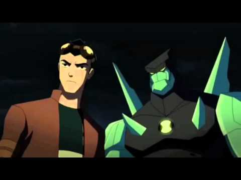 Ben 10 And Rex Team Up Just A Little Faster video
