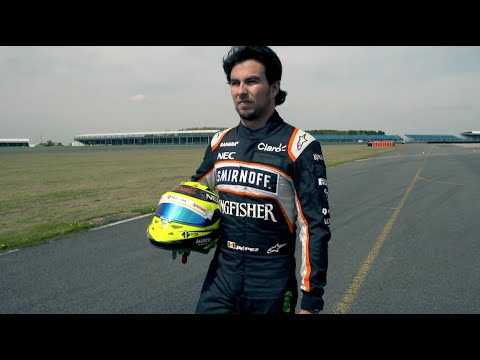 Exclusive Video of Sergio Pérez Training Session at Silverstone Circuit