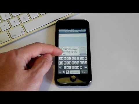 iPhone 5 - SMS mit Sprach-Assistenten schreiben