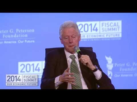 2014 Fiscal Summit: President Bill Clinton