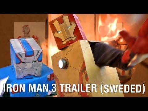 El trailer de Iron Man 3 recreado con muy bajo presupuesto
