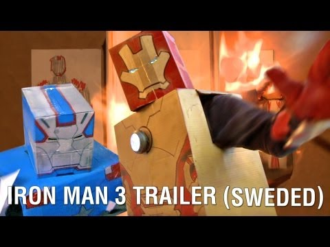 Iron Man 3 trailer - sweded