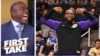 Magic Johnson: Showtime is back, not only in L.A. but around the NBA | First Take