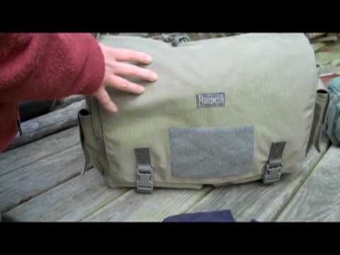 Maxpedition Larkspur Messenger Bag - Part 1 of 2