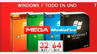 Windows 7 SP1 Full x86 32-bit x64 64-bit Español Actualizado Febrero 2017 1 Link Mega MediaFire