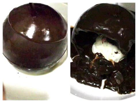 Magic Chocolate Ball Recipe / How to Make Chocolate Ball, Chocolate Ball Recipe / Chocolate Dessert.