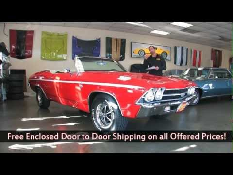 1969 Chevrolet Chevelle SS 396 Convertible FOR SALE flemings ultimate garage