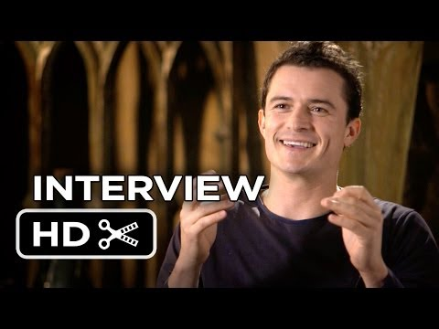 The Hobbit: The Desolation of Smaug INTERVIEW - Orlando Bloom (2013) - LOTR Movie HD