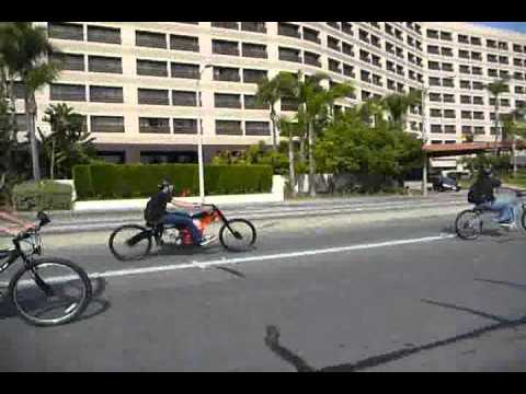 Motorized Bicycle ride 2-5-11 Los Angeles.wmv