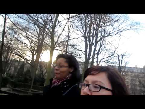 DTW Paris: Chapel of Our Lady of the Miraculous Medal and A park