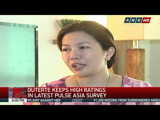 SWS, Pulse Asia differ in Duterte ratings