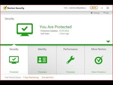 Обзор и тест Norton Security 2015 ver.22.0 Beta.
