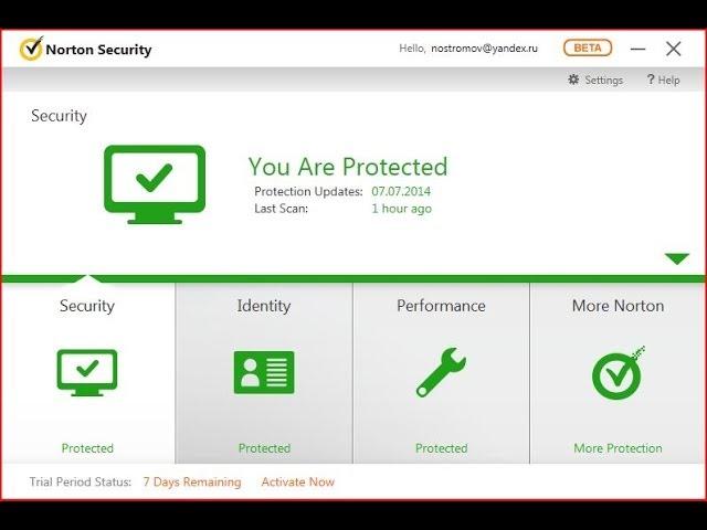 Скачать Norton Internet Security 2015 бесплатно последняя версяи. Dr.Web S