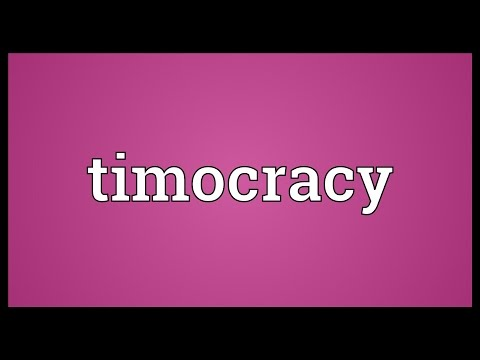 Header of timocracy