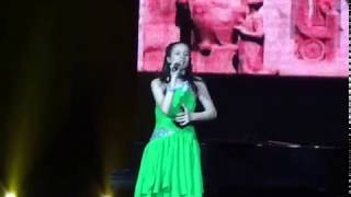 Victoria Hovhannisyan sings the song Nightingale of the Year - 2013