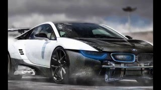 SpeedArt BMW i8 Blue Electro - Virtual Tuning RP. DESIGN