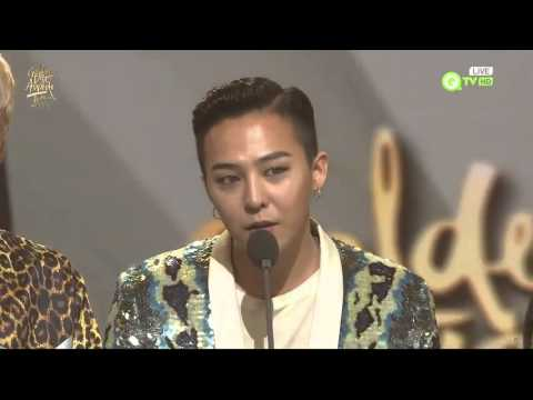 160120 BIGBANG - iQIYI MALE ARTIST @ GOLDEN DISK A