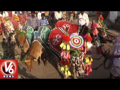 Polala Amavasya Festival Celebrations Begins In Adilabad District | V6 News