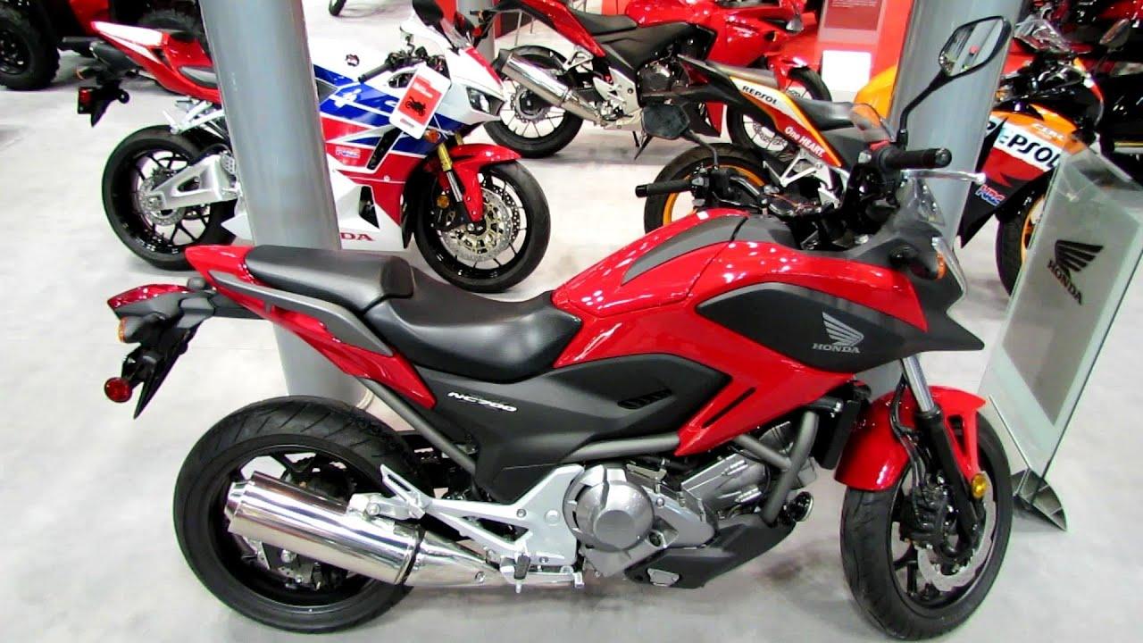 2014 Honda NC700X - 2013 New York Motorcycle Show - YouTube