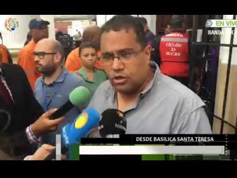 Enfrentamiento entre oficialistas y feligreses en iglesia Santa Teresa #LOMÁSVISTOVPITV