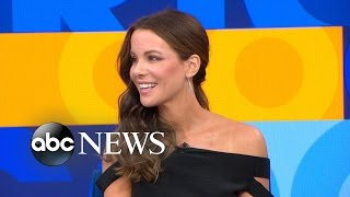 Kate Beckinsale Talks