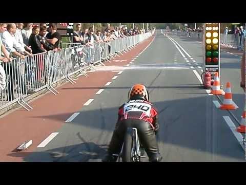Luc Foekema 6.9 sec run SBO Lisse 2011 dragrace 150 meter