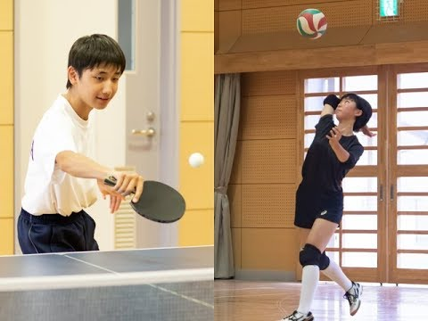Volleyball club in 2018 table tennis in body consecutive participation school introduction Ichinomiya in Aso-gun City for women