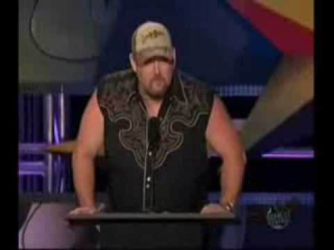 All the best parts of the Comedy Central Roast of Larry the Cable Guy. I love Gary Busey.