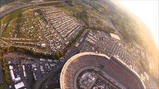 SkyDive into Bristol Motor Speedway - Night Race August 2015