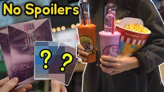 BTS Burn The Stage The Movie Hacks In Theater! (BT21 combo, Photo ticket, post cards..)