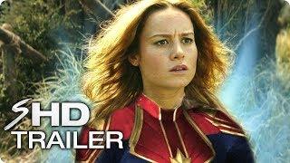 CAPTAIN MARVEL (2019) Avengers 4 Teaser Trailer #1 - Brie Larson Marvel Movie [HD] Concept