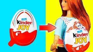 DIY Barbie Dresses | Making Easy Clothes for Barbies Dolls Creative Fun for Kids