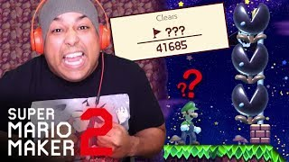 OVER 40,000 PEOPLE PLAYED THIS LEVEL AND FAILED!! [SUPER MARIO MAKER 2] [#10]
