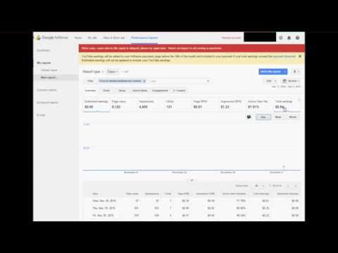 Estimated earnings not showing adsense 0$ PROBLEM SOLVED