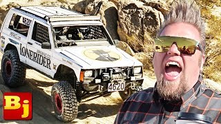 Race Jeep Cherokee XJ Walkaround with Ian Johnson