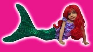 ARIEL AND ELSA'S MERMAID TREASURE HUNT | Swimming Tail | Toys | Princesses In Real Life | Kiddyzuzaa