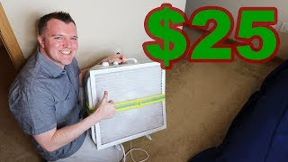 Best Home Air Purifier - Do It Yourself for $25
