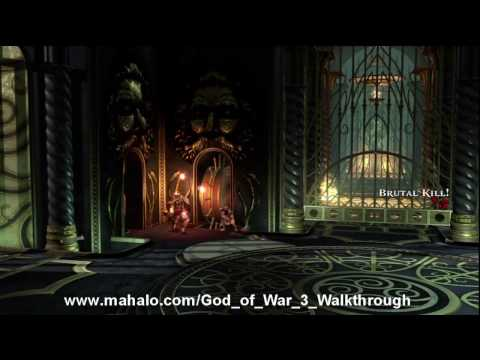 God of War III Walkthrough - Poseidon Princess Part 2 HD