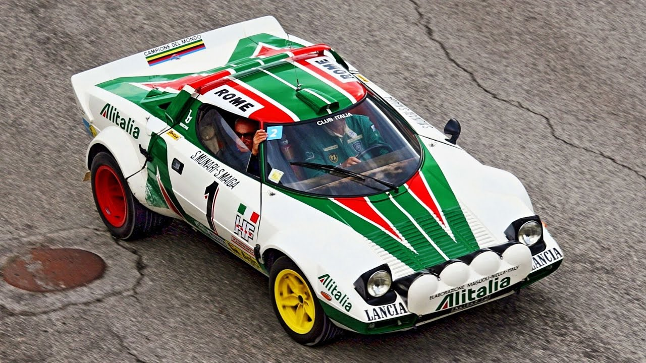 lancia stratos 40th anniversary rally legend 2011 youtube. Black Bedroom Furniture Sets. Home Design Ideas