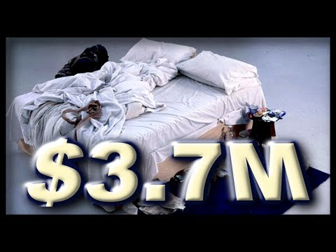 "$3.7M For ""My Bed"" Art 2014 -Tracey Emin Turner Prize Nominated"