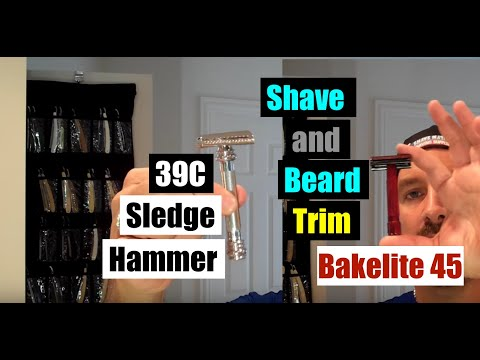 CAN YOU SHAVE WITH A SLEDGEHAMMER? MERKUR 39C SLANT BAR*CHOOSE YOUR RAZOR WISELY! Shaving/Beard Trim