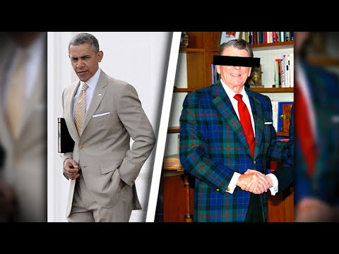 Obama's Tan Suit Delights But He's Not The First President To Stun