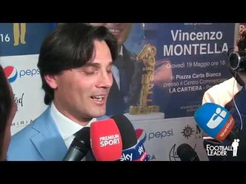 Vincenzo Montella si confessa a Football Leader 2016
